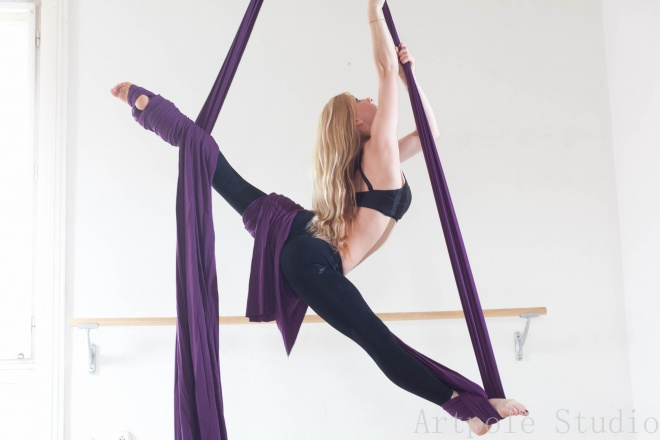 légtorna tissue/aerial silk