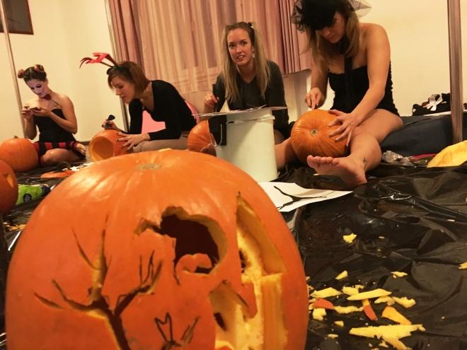 rúdtánc Halloween