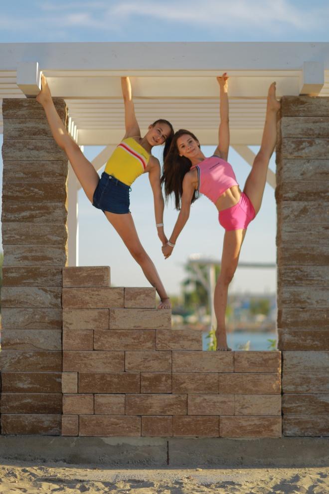 aerial girls