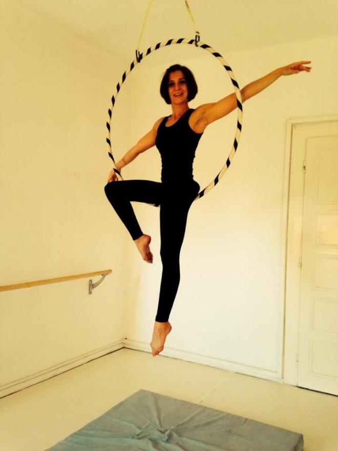Karika (aerial hoop) Artpole Buda Studio